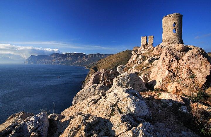 Генуэзская крепость Чембало. Балаклава