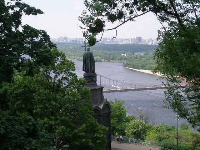 Владимирская горка. Киев