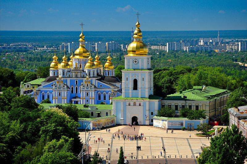 Музей истории Михайловского Златоверхого монастыря. Киев