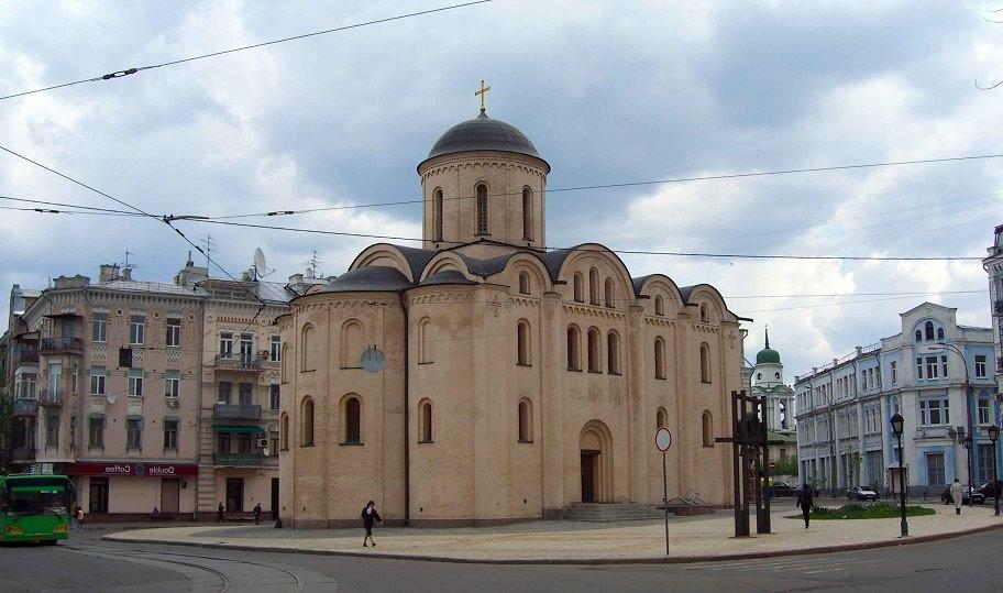 Церковь Успения Богородицы Пирогощей. Киев