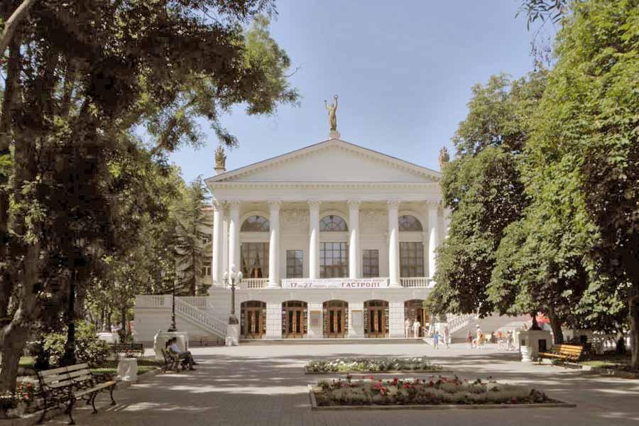 Театр им. А.В.Луначарского. Область Севастополь