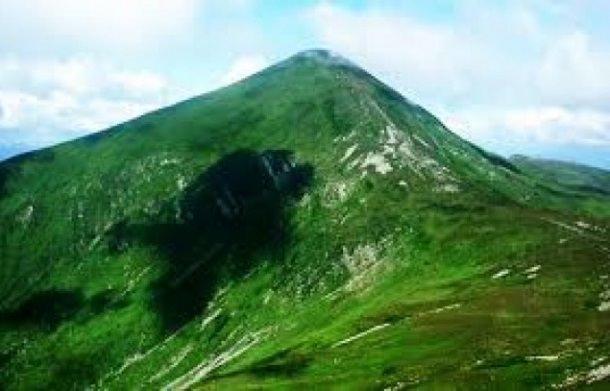 Горные вершины Украины. Говерла
