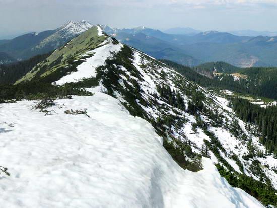 Зимние панорамы Карпат: Хомяк, Добошанка