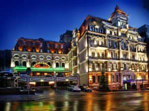гостинницы Киева