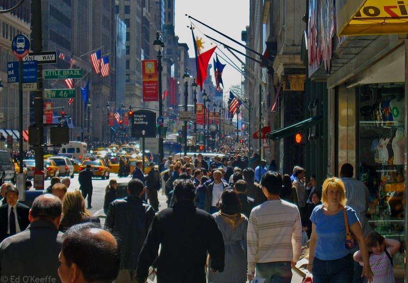 Прогулка по Пятой Авеню