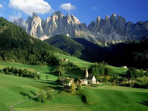 Климат и природа в Италии