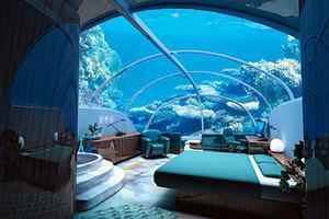 Уютный отдых в подводной гостинице