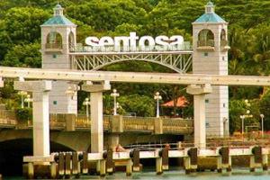 Хорошо жить на острове Сентоза!