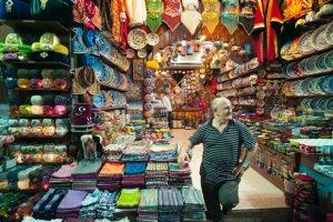 Египетский рынок в столице Турции