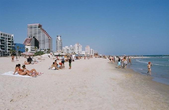 Отдых на пляжах Израиля