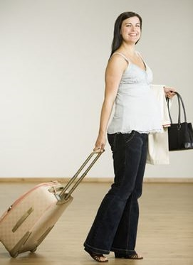 беременная за границей