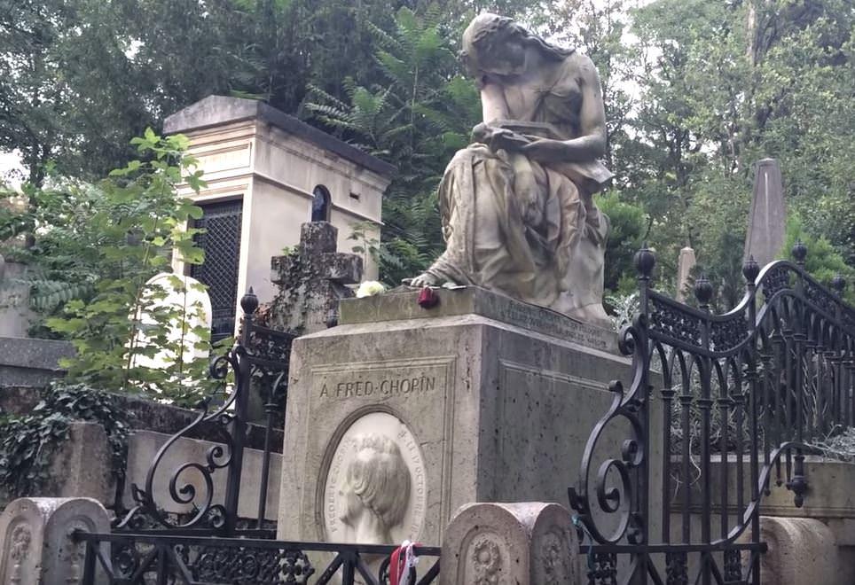 Cimetiere du Pere Lachaise (Кладбище Пер-Лашез)