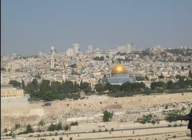 Первое знакомство с Иерусалимом