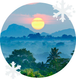Шри-Ланка зимой