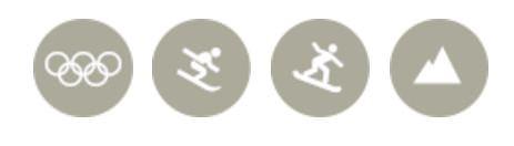 знаки лыжников
