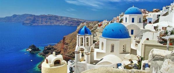 Греция с куполами