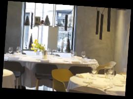 Столик в ресторане «Frosio»