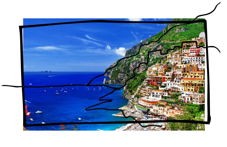 Залив в Италии