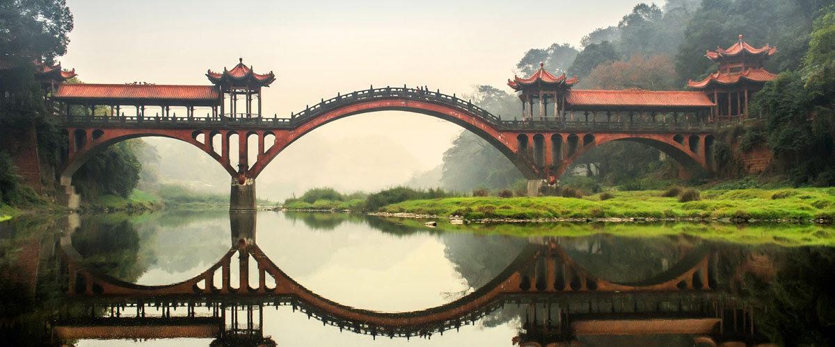 Фото моста в Китае