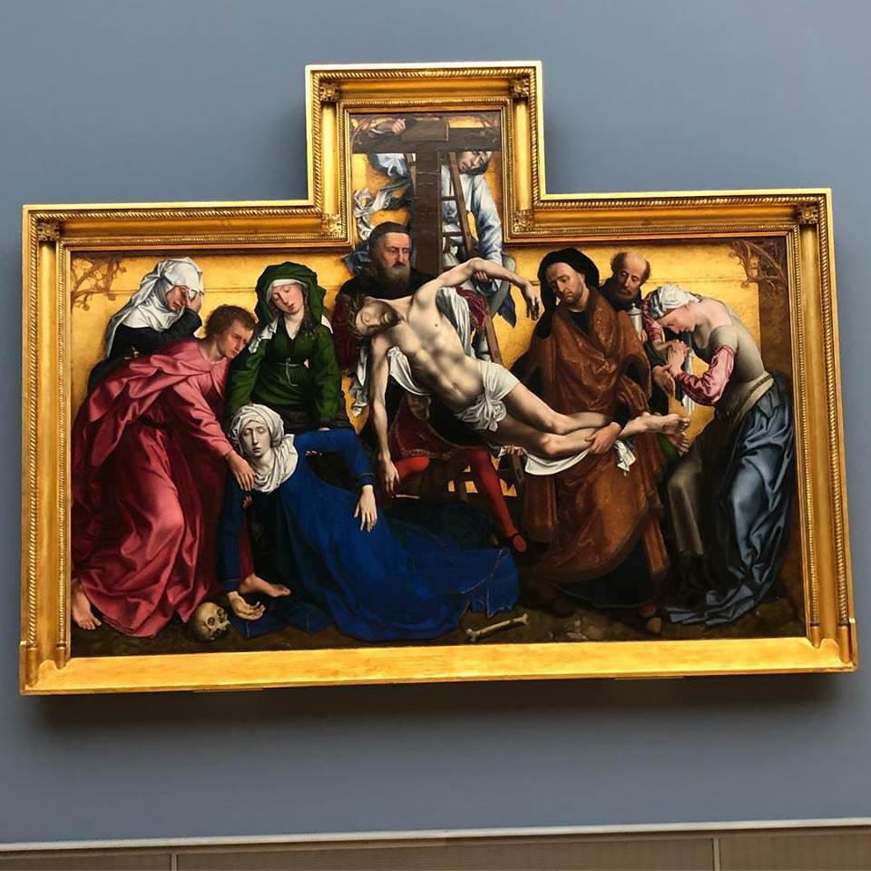 Картина Снятие с креста (Рогир ван дер Вейден).