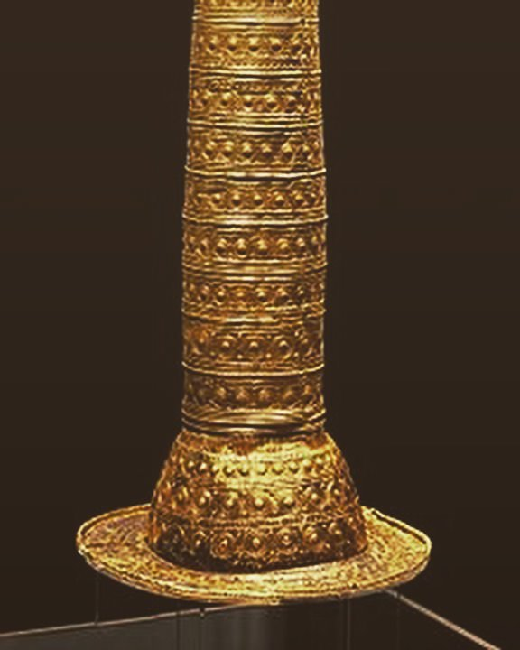 Берлинская золотая шляпа (1500 г. до н.э.).