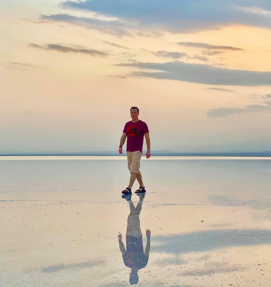 Соляное озеро и зона вулканической активности Даллол