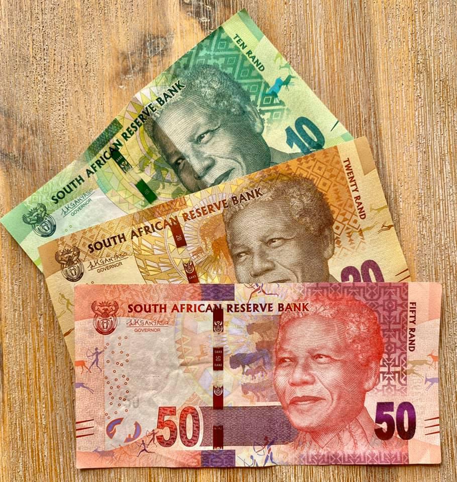 Нельсон Мандела на деньгах