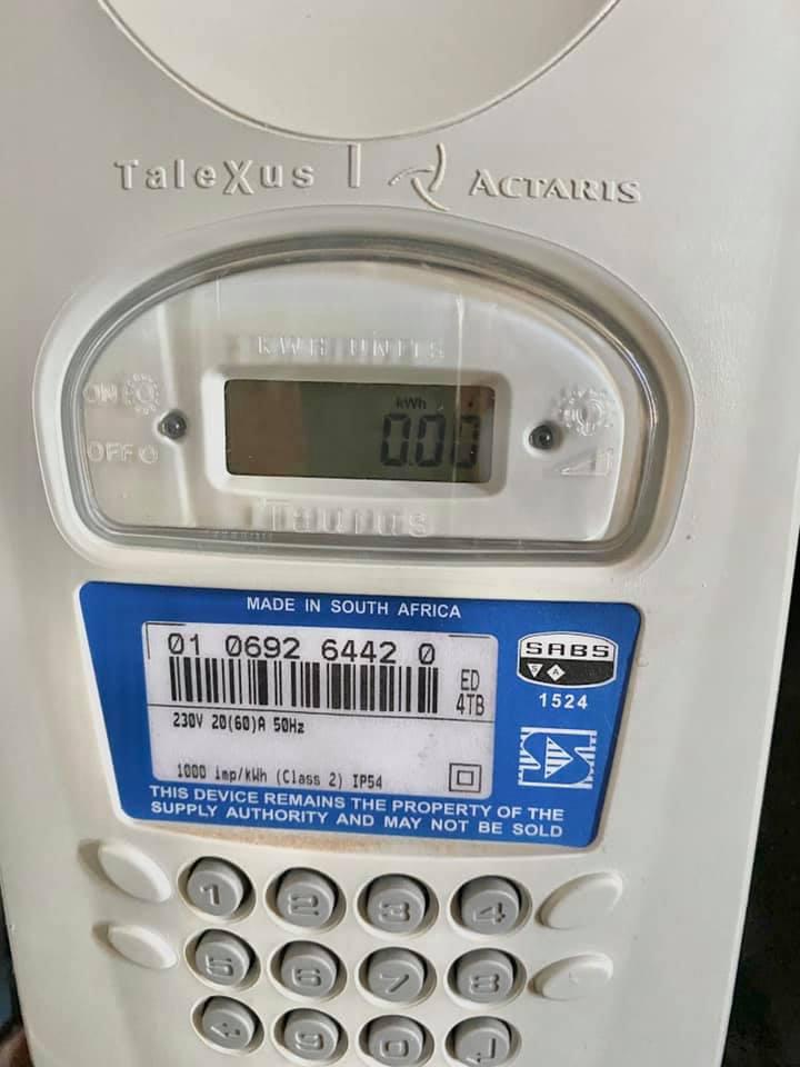 автоматические счетчики электроэнергии в ЮАР